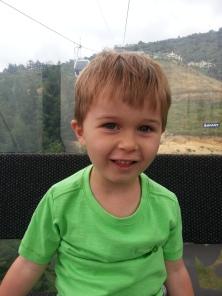 Jack on gondola