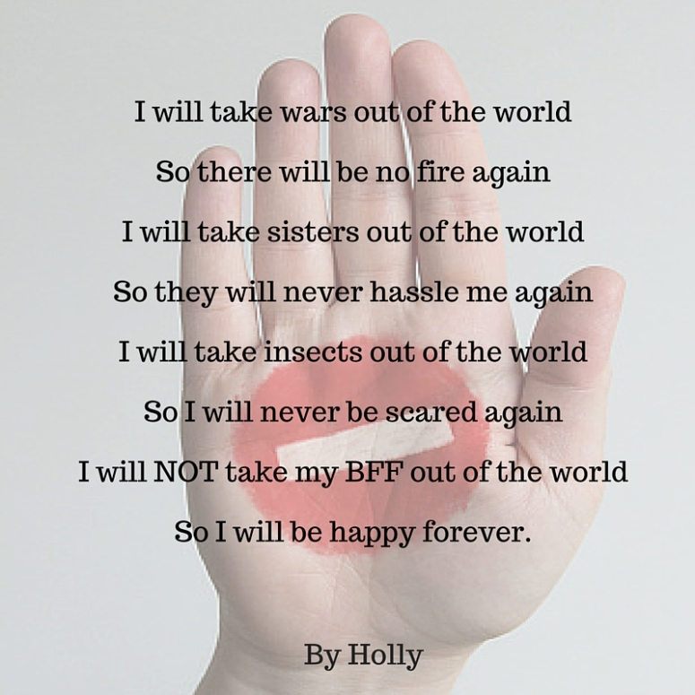 By Holly - What I Will Take Out Of The World