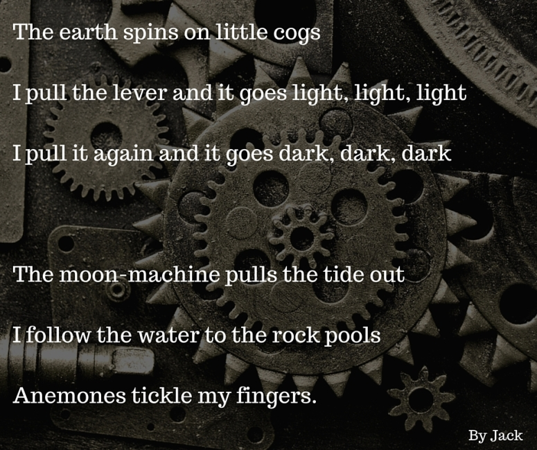 The Earth Spins on Little Cogs