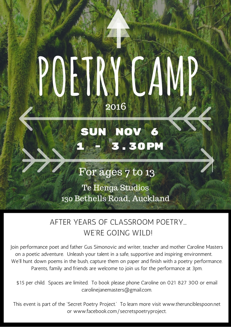 POETRY CAMP POSTER