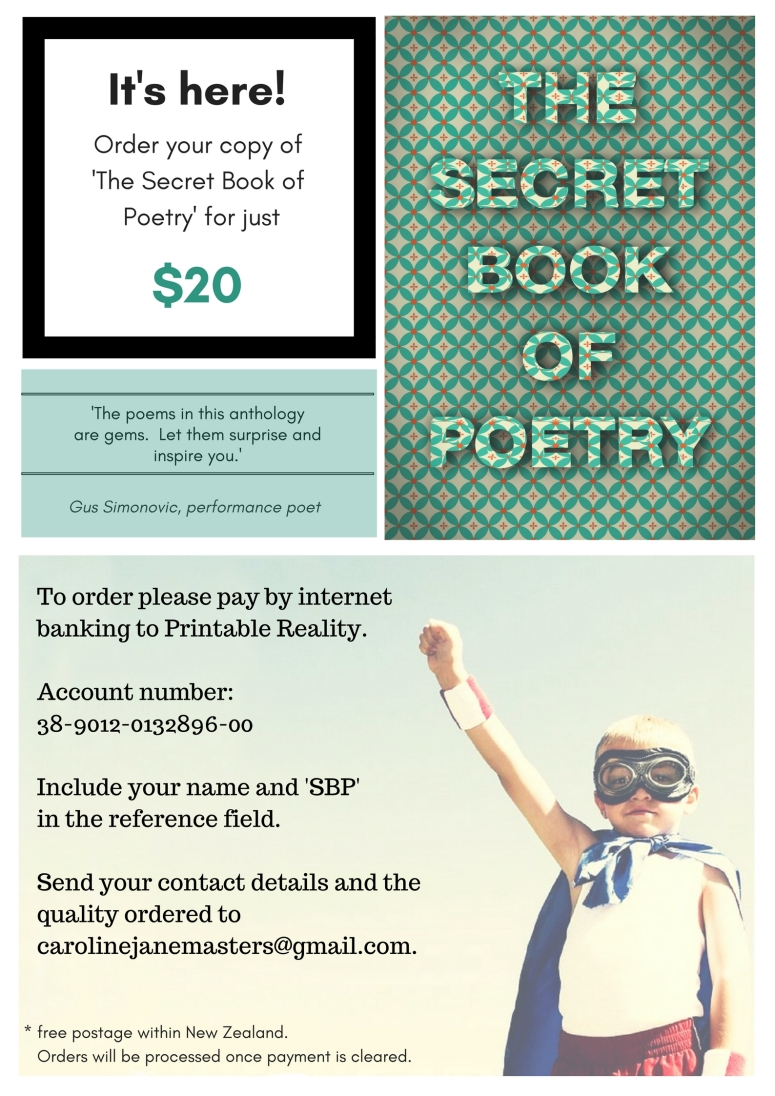 Secret Book Order Large Poster
