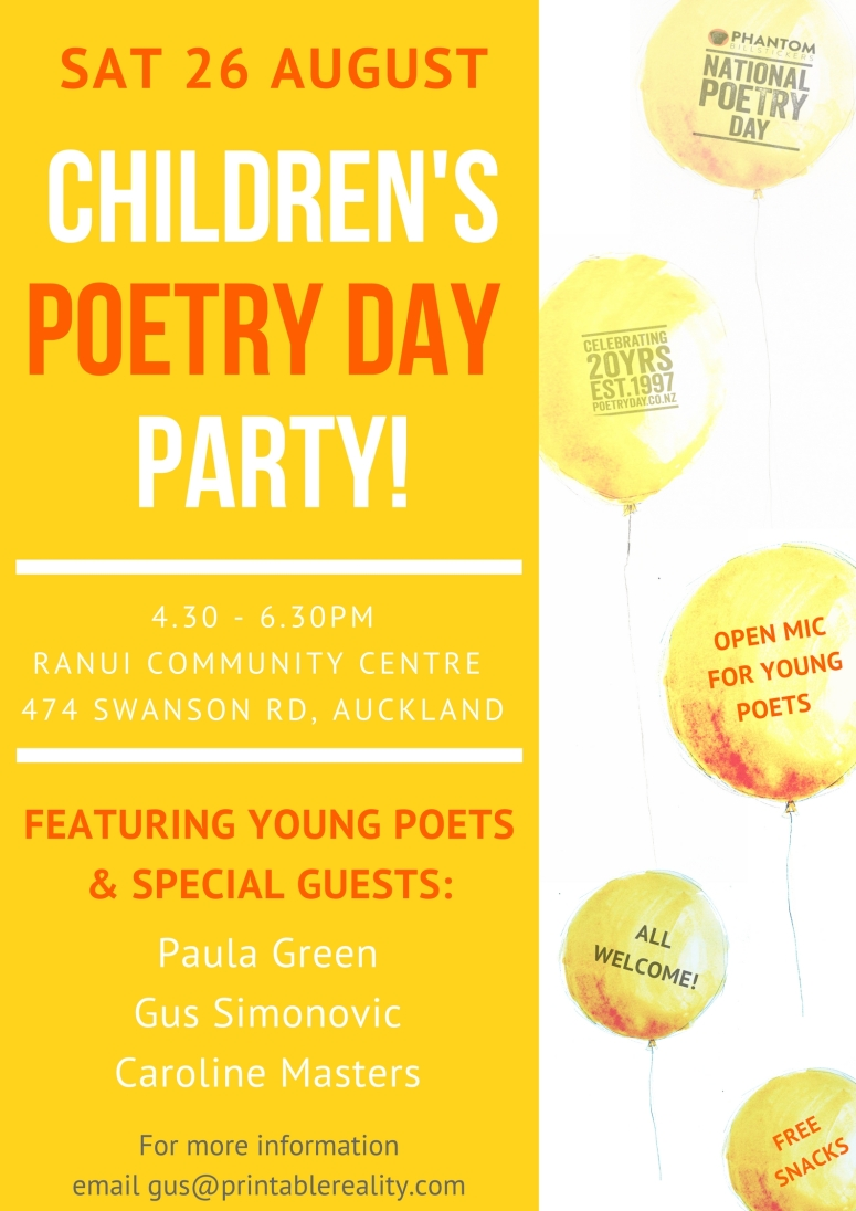 Children's Poetry Party (1)